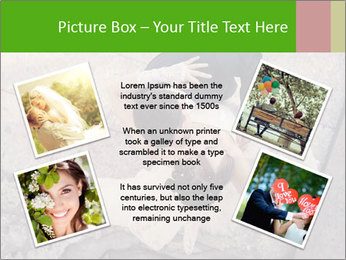 Happy young bride PowerPoint Templates - Slide 24