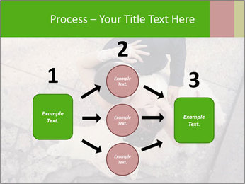 Happy young bride PowerPoint Templates - Slide 92