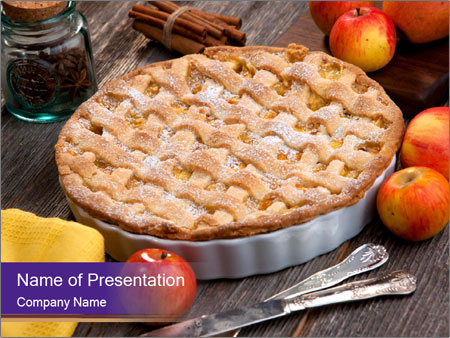 Apple pie powerpoint template backgrounds id 0000093846 apple pie powerpoint templates toneelgroepblik Images