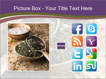 Dried chamomile flowers PowerPoint Templates - Slide 21