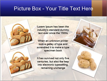 Bread and oil PowerPoint Template - Slide 24