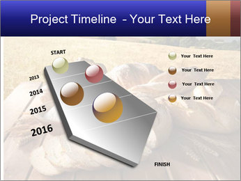 Bread and oil PowerPoint Template - Slide 26