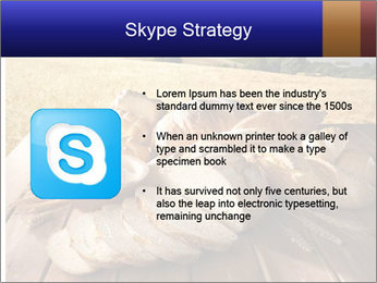 Bread and oil PowerPoint Template - Slide 8