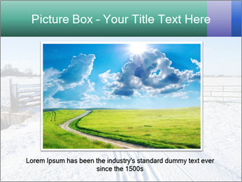 Bicycle road by Dutch windmill PowerPoint Template - Slide 15