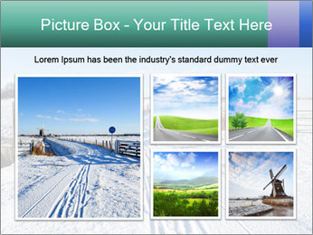 Bicycle road by Dutch windmill PowerPoint Template - Slide 19