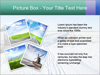 Bicycle road by Dutch windmill PowerPoint Template - Slide 23