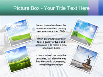 Bicycle road by Dutch windmill PowerPoint Template - Slide 24