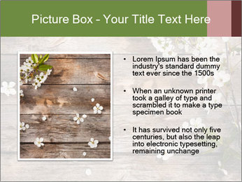 Flowers on wooden PowerPoint Templates - Slide 13