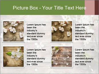 Flowers on wooden PowerPoint Templates - Slide 14