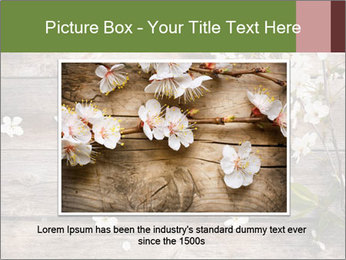 Flowers on wooden PowerPoint Templates - Slide 15