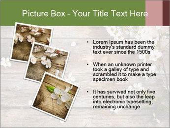 Flowers on wooden PowerPoint Templates - Slide 17
