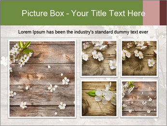Flowers on wooden PowerPoint Templates - Slide 19