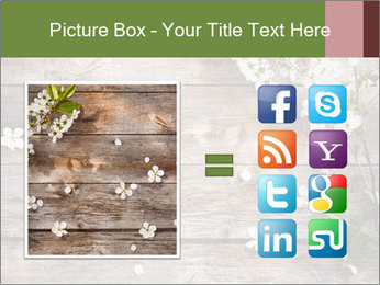 Flowers on wooden PowerPoint Templates - Slide 21