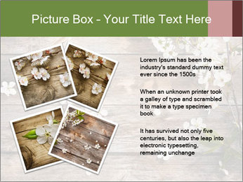 Flowers on wooden PowerPoint Templates - Slide 23