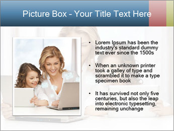 Mother and daughter PowerPoint Templates - Slide 13