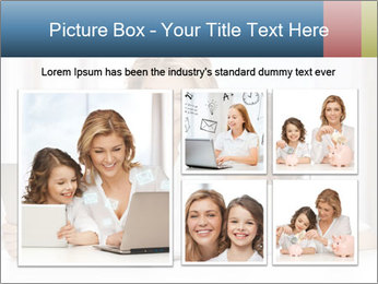 Mother and daughter PowerPoint Templates - Slide 19