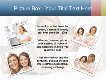 Mother and daughter PowerPoint Templates - Slide 24