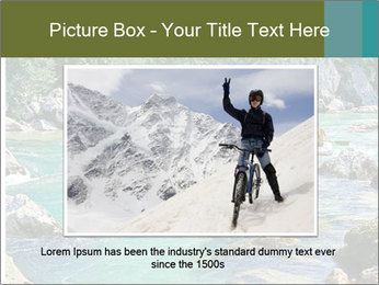 White water rafting PowerPoint Template - Slide 15