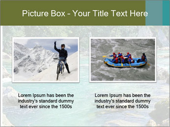 White water rafting PowerPoint Template - Slide 18