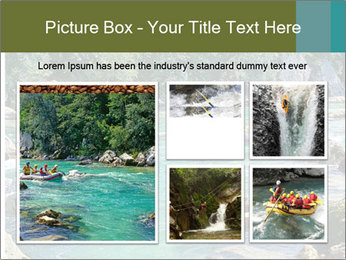 White water rafting PowerPoint Template - Slide 19