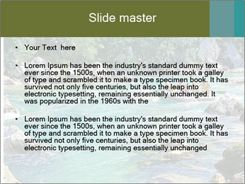 White water rafting PowerPoint Template - Slide 2