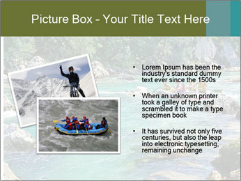 White water rafting PowerPoint Template - Slide 20