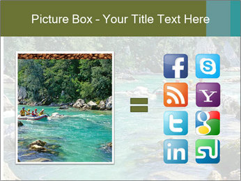 White water rafting PowerPoint Template - Slide 21