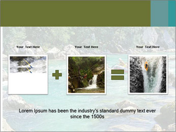 White water rafting PowerPoint Template - Slide 22