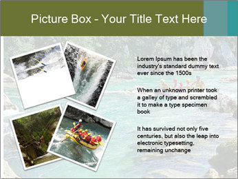 White water rafting PowerPoint Template - Slide 23