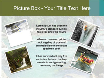 White water rafting PowerPoint Template - Slide 24