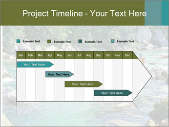 White water rafting PowerPoint Template - Slide 25