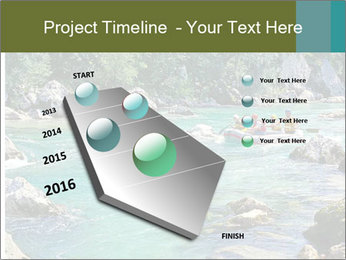 White water rafting PowerPoint Template - Slide 26