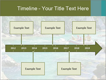 White water rafting PowerPoint Template - Slide 28