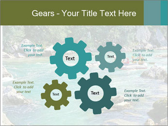White water rafting PowerPoint Template - Slide 47
