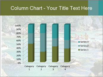 White water rafting PowerPoint Template - Slide 50