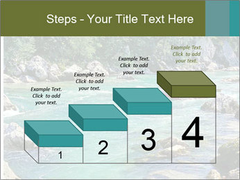 White water rafting PowerPoint Template - Slide 64