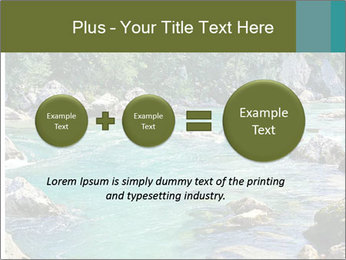 White water rafting PowerPoint Template - Slide 75