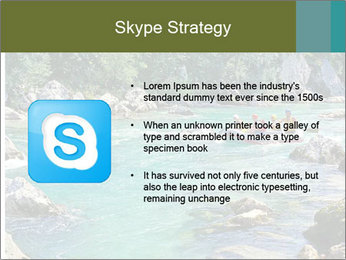 White water rafting PowerPoint Template - Slide 8