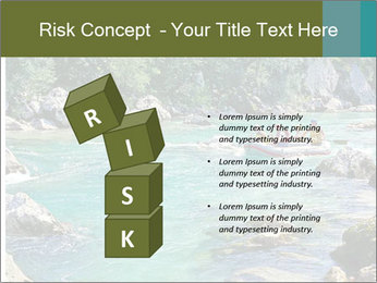 White water rafting PowerPoint Template - Slide 81