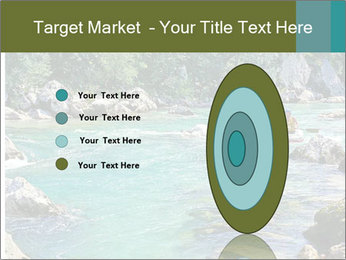 White water rafting PowerPoint Template - Slide 84