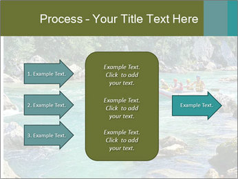 White water rafting PowerPoint Template - Slide 85