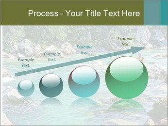 White water rafting PowerPoint Template - Slide 87