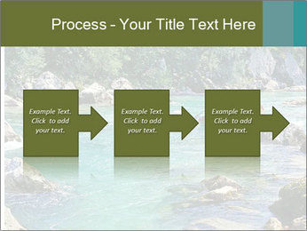 White water rafting PowerPoint Template - Slide 88