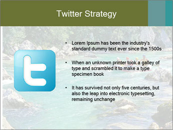White water rafting PowerPoint Template - Slide 9