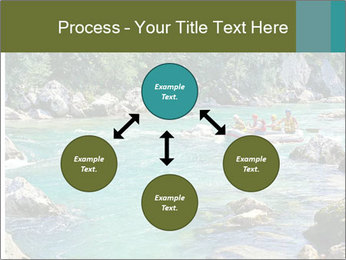 White water rafting PowerPoint Template - Slide 91