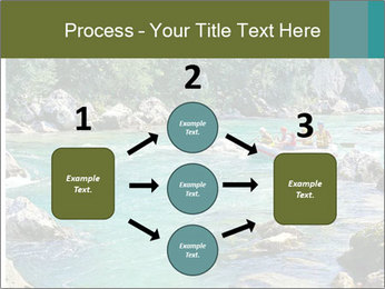 White water rafting PowerPoint Template - Slide 92