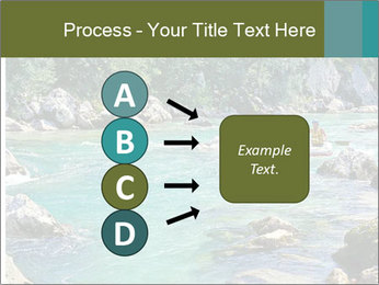 White water rafting PowerPoint Template - Slide 94