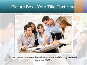 Business people PowerPoint Template - Slide 15