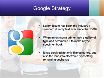 Happy business team PowerPoint Template - Slide 10