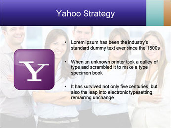 Happy business team PowerPoint Template - Slide 11